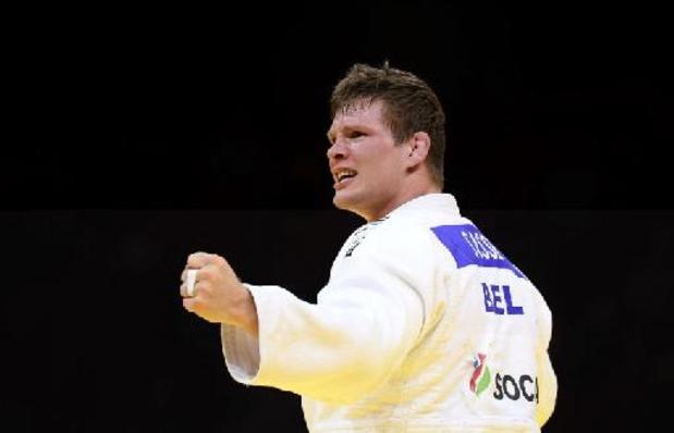 """WK judo - Matthias Casse denkt vlak na wereldtitel al aan Spelen: """"Medaille zit in mijn hoofd"""""""