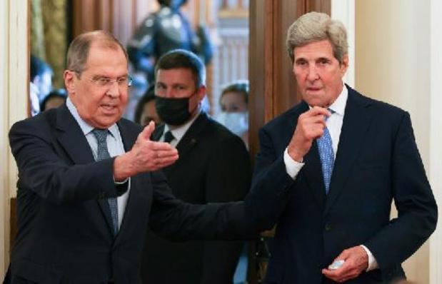 """Changement climatique: Russie et Etats-Unis ont des """"intérêts communs"""", selon Poutine"""