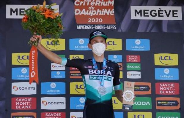 Critérium du Dauphiné - Kämna heeft dubbel gevoel