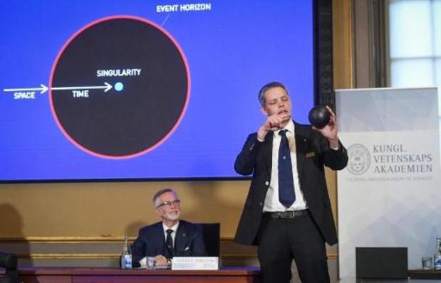 Nobelprijs Natuurkunde voor onderzoek naar zwarte gaten