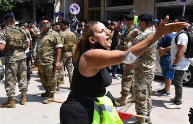 Gewonden bij protest in Libanese hoofdstad