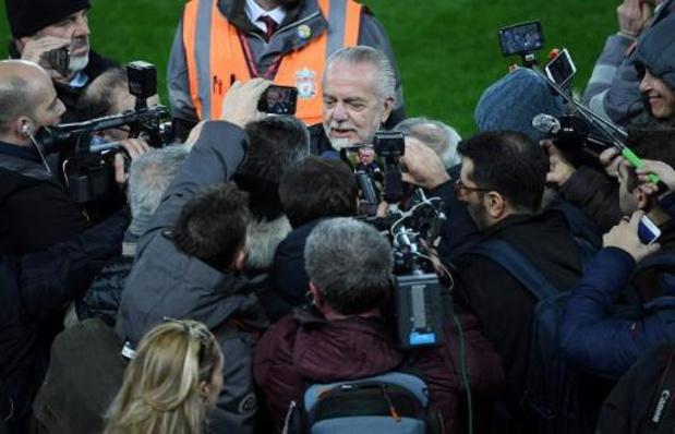 Napoli-voorzitter haalt uit naar spelers na muiterij