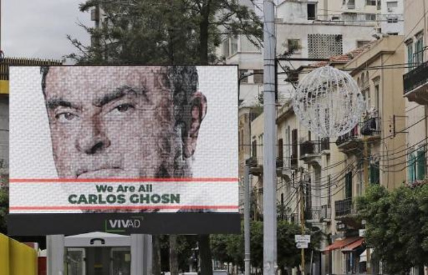 Le Liban a reçu une demande d'arrestation d'Interpol pour Carlos Ghosn