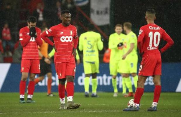 Jupiler Pro League - Fin d'année difficile pour le Standard qui s'incline à Sclessin contre La Gantoise