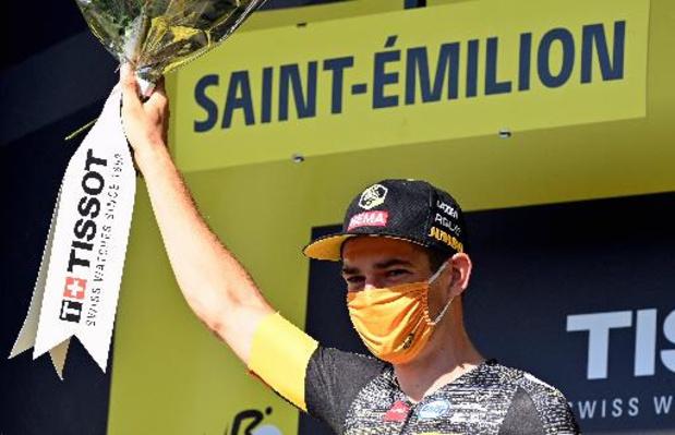 Tour de France - Van Aert knalt in tijdrit naar vierde Belgische ritzege
