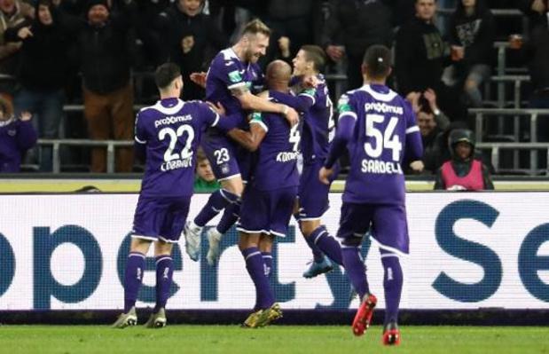 Jupiler Pro League - Anderlecht inflige une correction à Eupen et reste dans la course pour les play-offs I