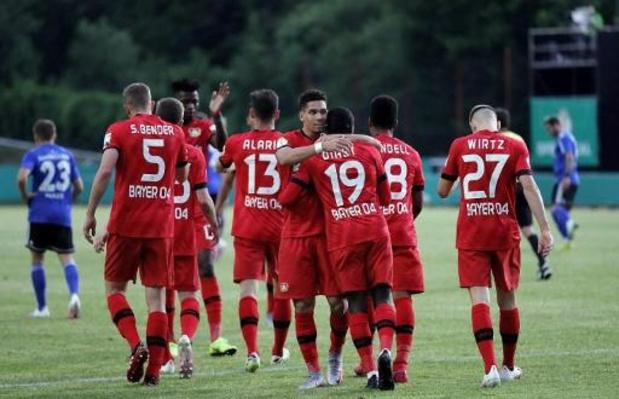 Coupe d'Allemagne - Le Bayer dispose facilement de Sarrebruck et file en finale