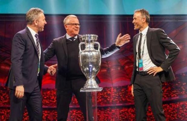 """Loting EK 2020 - Spaanse T1 Enrique hoopt op steun thuisfans, Mancini loot met Italië """"evenwichtige groep"""""""