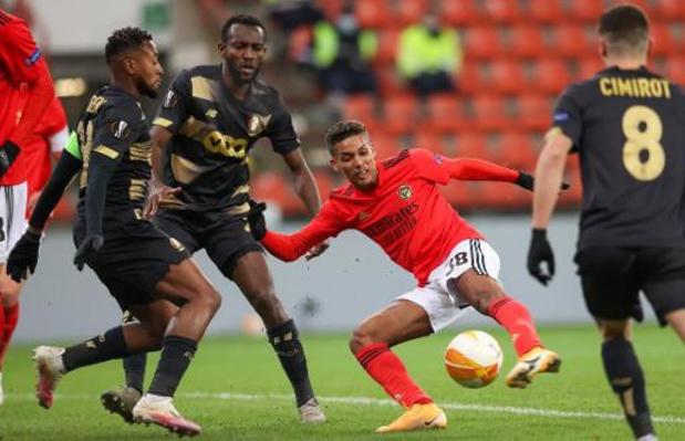 Le Standard partage 2-2 face à Benfica pour l'honneur