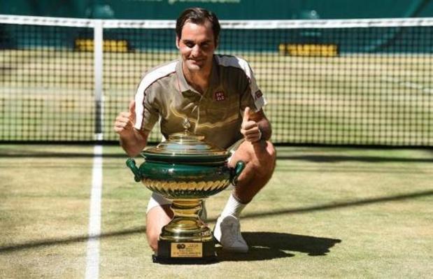 Federer zegt nu al toe in 2021 in Halle te tennissen