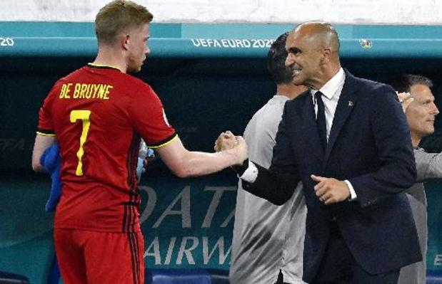 Euro 2020 - Hormis la blessure de Castagne, Martinez ne voit que du positif avant les huitièmes