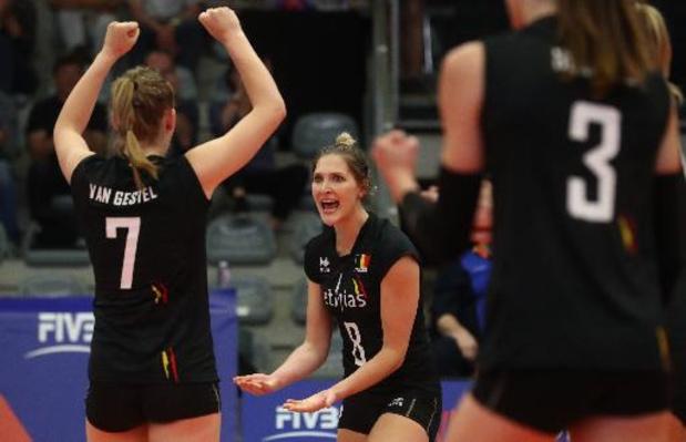 Ligue des Nations de volley dames : la Belgique bat la Thaïlande, lanterne rouge