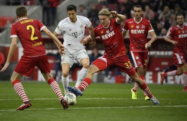 Bundesliga :Cologne, avec Bornauw, gaspille un avantage de deux buts contre Mayence