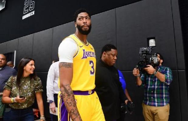 LA Lakers winnen nog eens dankzij Anthony Davis