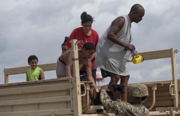 Orkaan Laura richt veel schade aan in Louisiana