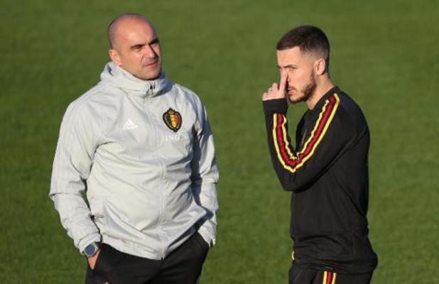 """Il faut donner à Eden Hazard """"ce dont il a besoin pour se rétablir"""", pense Martinez"""