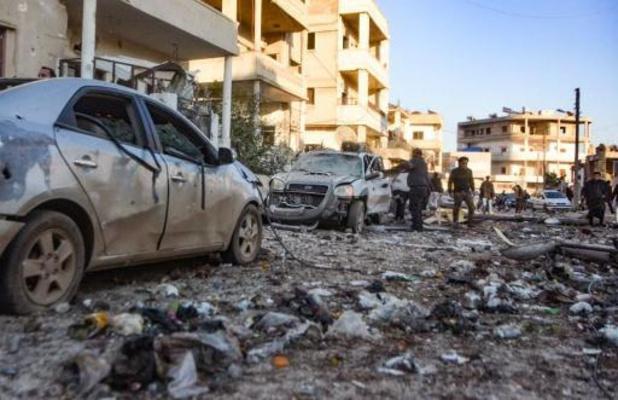 Turkije voert bombardementen uit in Syrië na luchtaanval