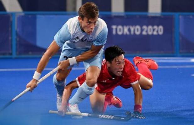 OS 2020: Argentinië klopt gastland Japan met kleinste verschil in het hockey