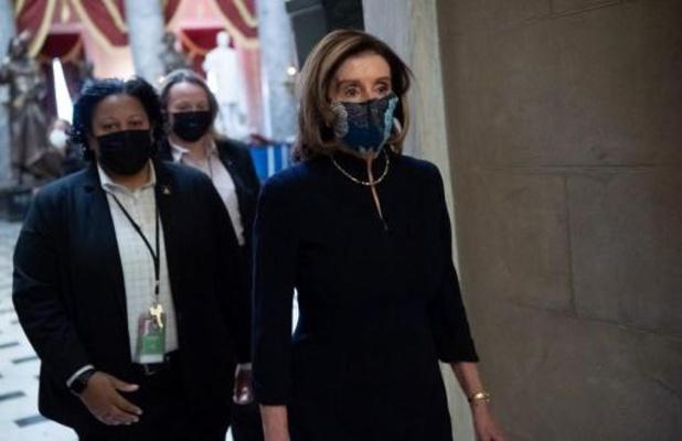 Voorzitster Nancy Pelosi opent inhoudelijk debat in lagerhuis over impeachment Trump