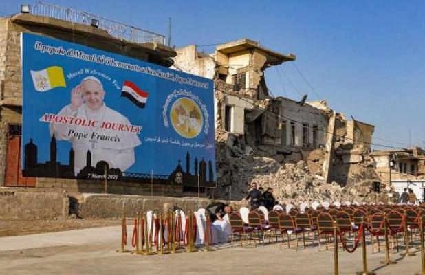A Bagdad, la messe du pape entre youyous et effluves d'encens