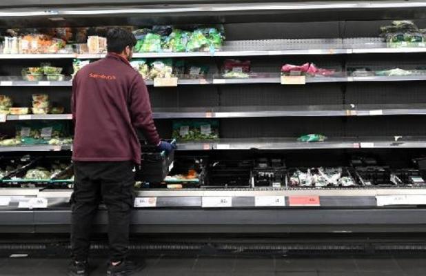 Zeventien procent Britten geraakte niet aan essentiële voedingsproducten