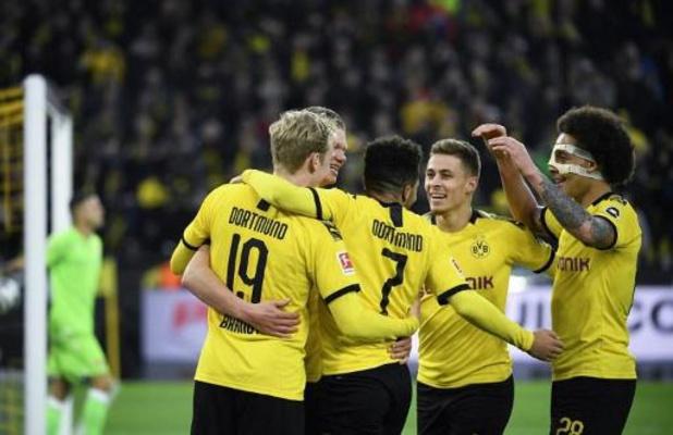 Nouvelle démonstration de Dortmund et d'Haaland face à l'Union Berlin, Witsel buteur