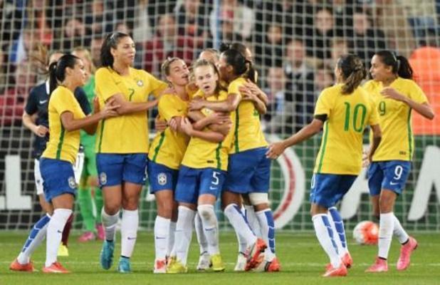Brésil: égalité salariale hommes-femmes en sélection de football