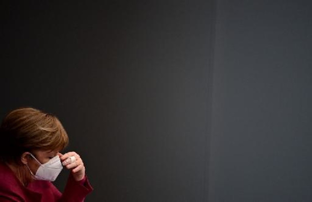 Angela Merkel heeft eerste dosis coronavaccin ontvangen