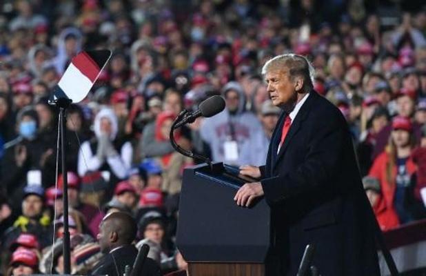 Campagne-evenementen van Trump zullen virtueel plaatsvinden of uitgesteld worden