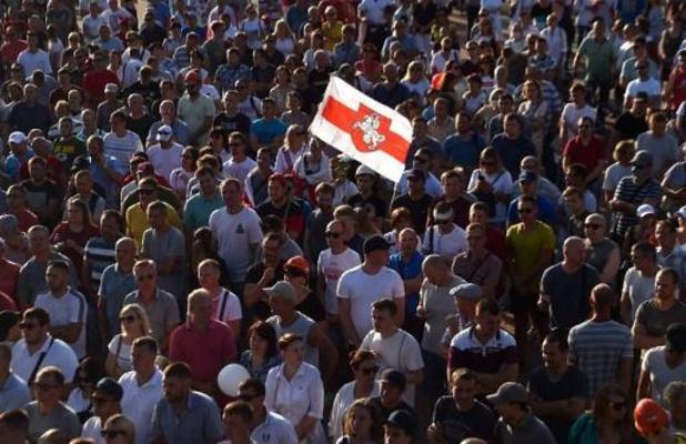 Protesten Wit-Rusland - OVSE stelt Loekasjenko voor te bemiddelen