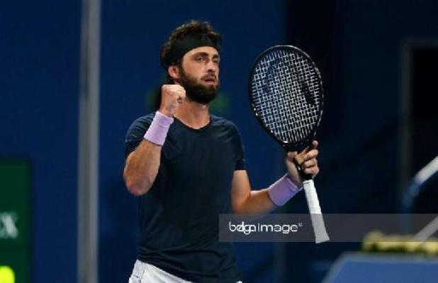ATP Doha - Nikoloz Basilashvili verovert vierde ATP-titel