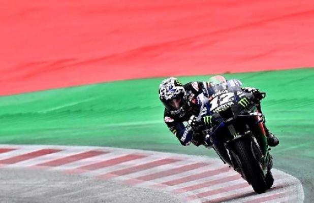 Le pilote de MotoGP Maverick Vinales passe chez Aprilia