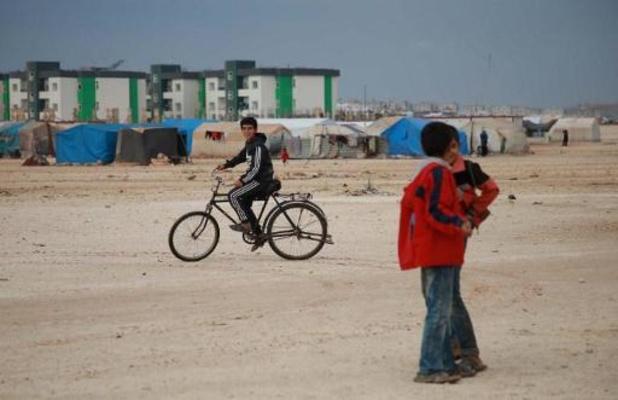 Russische militaire politie patrouilleert in noorden van Syrië