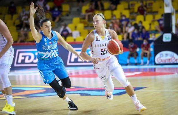 Euro de basket féminin - 35 passes décisives pour la Belgique contre la Slovénie, un record depuis 1995