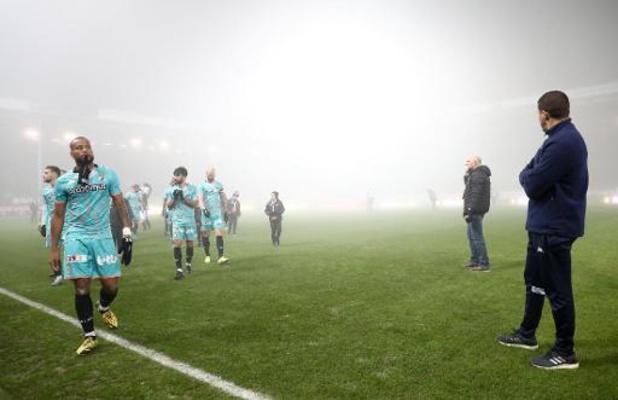 Le match Charleroi/FC Malines sera rejoué le 11 février