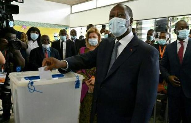 Verkiezingen in Ivoorkust verlopen in gespannen sfeer