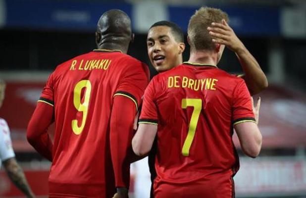 België oefent in aanloop naar EK tegen vicewereldkampioen Kroatië