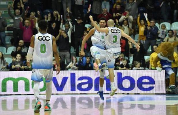 Euromillions Basket League - Mons s'impose face à Anvers dans le choc de la journée