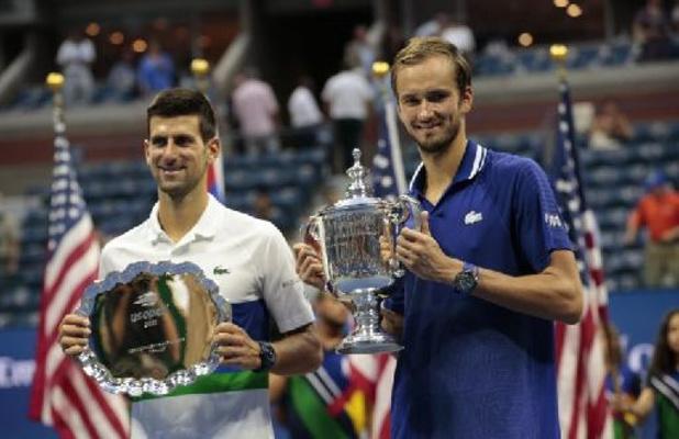 Djokovic blijft ATP-ranking aanvoeren voor Medvedev, Goffin behoudt 30e plaats