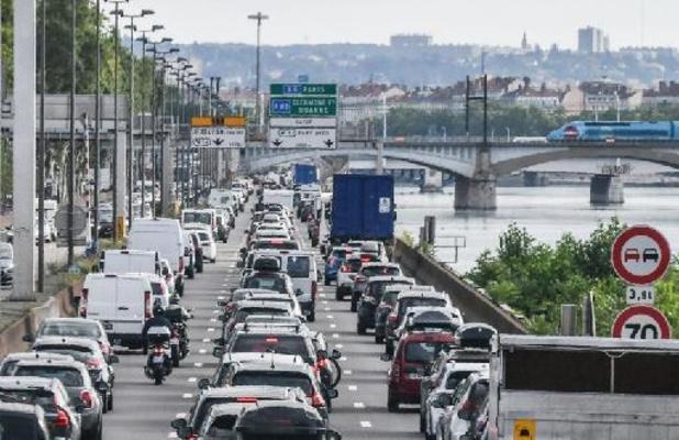 Zwart weekend: al 791 kilometer file in Frankrijk