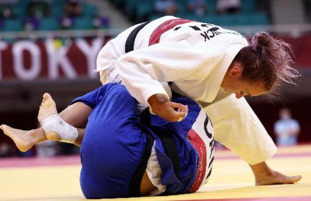 JO 2020 - Charline Van Snick se qualifie pour les 8es de finale en -52 kg