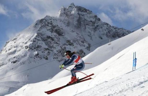 St Moritz: l'Italienne Goggia remporte le super-G, Shiffrin 3e