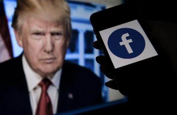 Ex-president Trump blijft voorlopig verbannen van Facebook
