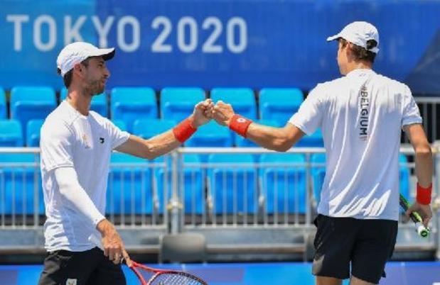 ATP Toronto - Sander Gillé et Joran Vliegen se hissent dans le dernier carré en double