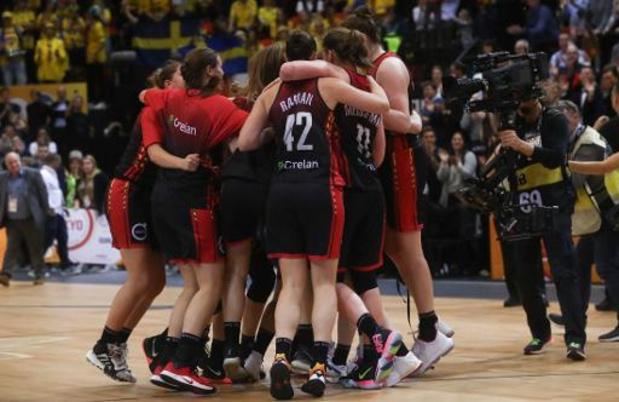 Belgian Cats winnen oefenpartij van Servië: 64-63