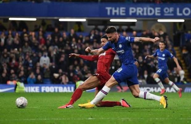 Belgen in het buitenland - Chelsea voorbij Liverpool naar kwartfinales FA Cup
