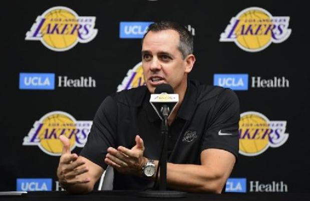 NBA - Frank Vogel prolonge comme coach des Lakers de Los Angeles
