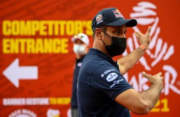 Nasser Al-Attiyah wint de proloog bij de wagens