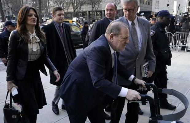 Weinstein weer overgebracht naar ziekenhuis na hartoperatie