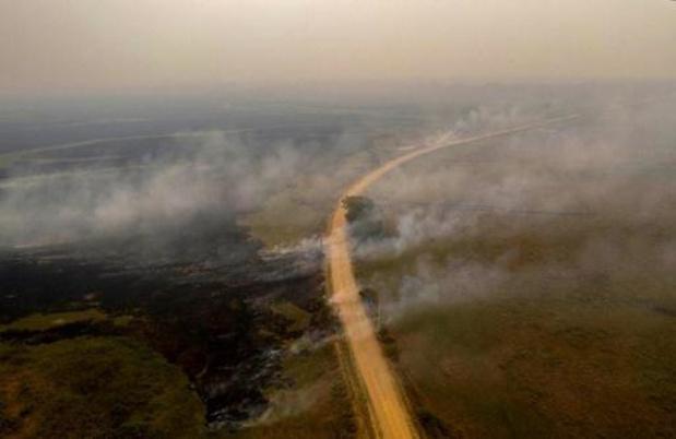Recordaantal aangestoken branden in Amazonegebied en Pantanal
